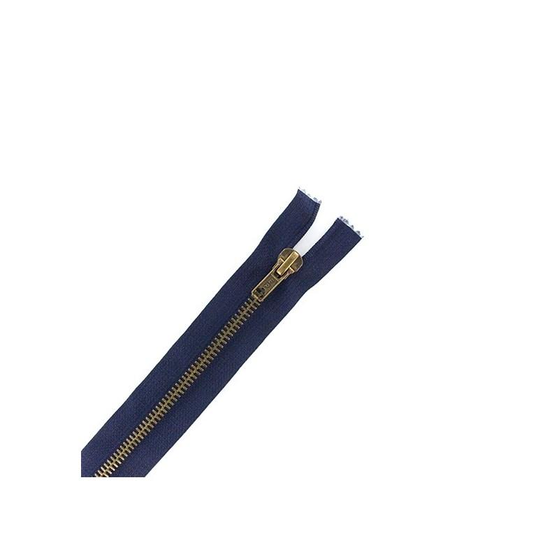 fermeture-eclair-laiton-non-separable-bleu-marine